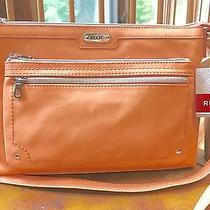 Relic by Fossil Evie Collection Crossbody Purse Apricot  New Photo