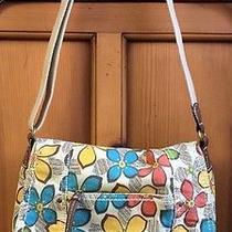 Relic by Fossil Flower Themed Purse Shoulder Crossbody Messenger Handbag Cute Photo