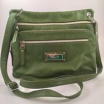 Relic by Fossil Green Crossbody Purse Photo