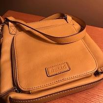 Relic by Fossil Handbag Organizer Crossbody Bag Purse Messenger Yellow Photo