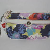 Relic by Fossil Heather Floral Multi Coin Id Key Ring Wallet   New Photo