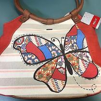 Relic by Fossil Teagan Collection Ring Shopper Tote Big Butterfly Photo