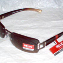 Relic by Fossil Women's Sunglasses  Fowers Bay 1 Rinestone Frame Sport Wrap. Photo