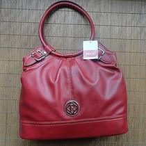 Relic Fossil Bleeker Ring Shoulder Bag Purse Red New With Tags Photo