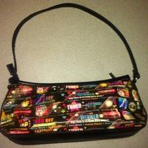 Relic Fossil Reality Tv Small Hologram Holographic Purse Handbag Fun Colorful Photo