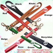 Replacement Genuine Leather Wrist Strap for Clutch/wristlet/purse/pouch 13colors Photo
