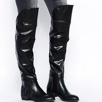 Report Signature Gema Over the Knee Boots Black Size 7.5 Photo