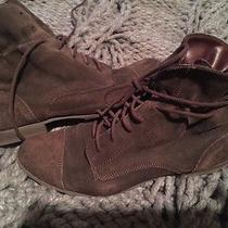 Report Signature Hipster Boots Suede Brown 8 Grunge Booties Leather Photo