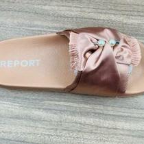Report Women's Gracelynn Slide Sandal Blush 8 Medium Us  Brand New Free Shipping Photo
