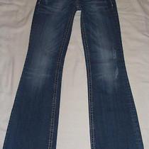 Rerock for Express Boot Denim Jeans Sz 4 Regular Inseam 31