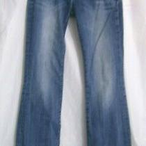 Rerock for Express Denim Jeans Pants Boot Cut Med Wash Blue Womens Size 6 R Photo
