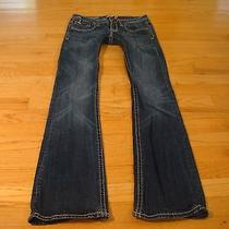 Rerock for Express Thick Stitch Boot Jeans Size 0 Cute Photo