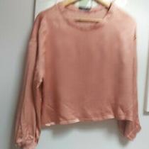 Reserved Pale/blush Pink Long Sleeved Top Size 6 Photo