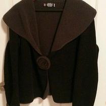 Retail 178 Nwt Black Roxy Designer Thick Fleece Jacket Usa Made Women's Xl Photo