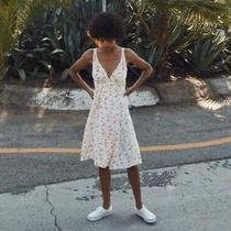 Retail 197-Christy Dawn Rosie Wrap Dress Floral Sz Xs/s Eeuc Photo