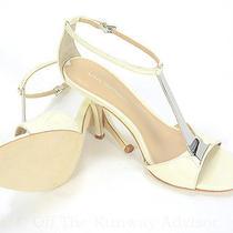 Retail 198 via Spiga Light Cream Ira T Strap Sandals Size 7m Us Photo