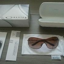 Retail 210 - Oakley Collected Sunglasses - Color Rose Gold W/ Vr50 Photo