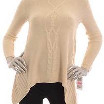 Retail 49.5 style&co Warm Vanilla Knit Sweater Size Pp Photo