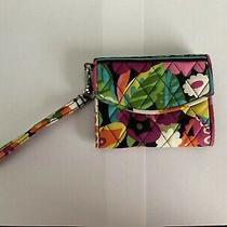 Retired Vera Bradley Multi Color Wristlet Wallet Va Va Bloom  Photo