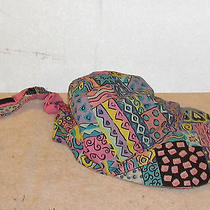 Retro 90s Inspirations by Christie Funky Patchwork Women's Hat Photo