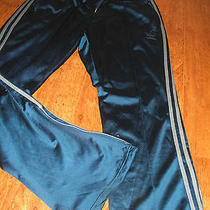 Retro Adidas Tracksuit Bottoms Size Xl Blue Photo
