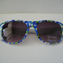 Retro Fashion Floral Print Sunglasses Photo