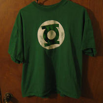 Retro Green Lantern Logo Shirt Big Bang Theory Sheldon Photo