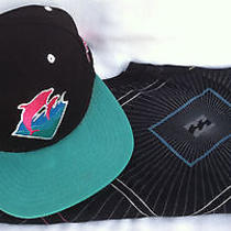 Retro Styled Dolphin Strap Back Hat & Billabong Surf Skate Shirt Free Shipping Photo