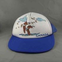 Retro Trucker Hat - Featuring Canada Goose Graphic - Puffy Graphic Photo