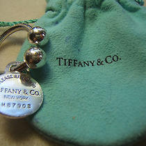 Return to Tiffany Tag Sterling Silver Keychain Photo