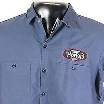 Reverend Horton Heat Dickies Work Shirt W/ Patch Xl Psychobilly Rev Gas Station Photo