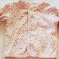 Reversible Pink Floral Baby Jacket 3 to 6 Months Photo