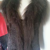 Reversible Tibet Lamb Mogolian Lamb Fur Vest M Medium  Photo