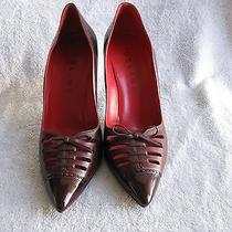 Rich Red Wine Colored Heels by Celine Photo