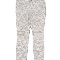 Rich & Skinny Jeans 25 Skinny Leg 28 Print Grey Printed Photo