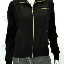 Rich & Skinny Women's Briana Bomber Jacket Black Size Size S Photo