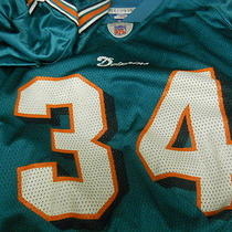 Ricky Williams Miami Dolphins  Green  Jersey Adult Xl X-Large  Photo