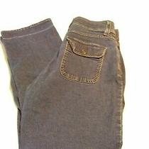 Riders Comfort No Gap Waistband Blue Straight Leg Stretch Women Jeans Size 14s Photo