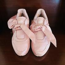 Rihanna Puma Fenty Bow Sneakers Pink Shoes Size 8.5 Worn One Time Photo