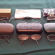 Rimless Silhouette Armani Exchange Joe and Other Eyeglass Frames With Cases Photo