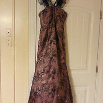 Rina Di Montella 1752 Darknavy/blush Size6 (Nwot) Perfect for Prom Photo