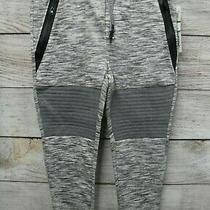 Ring of Fire Joggers Mens Large Grey Spacedye Porter Zip Fleece Jogger New Photo