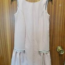 River Island Blush Pink Baby Pink Peach Dress Size 8 Worn Once Pleated Baby Doll Photo