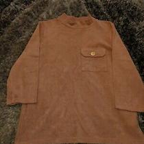 River Island Corduroy Blush Pink 3/4 Sleeve T-Shirt Top Size 12 Photo