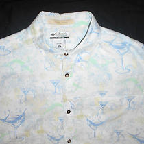 River Lodge Columbia Sportswear Short Sleeve  Size Xl Great Condition Photo