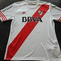 River Plate Cavenaghi Match Worn/issued Shirt   Photo