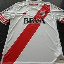 River Plate Martinez Match Worn/issued Shirt   Photo