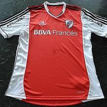 River Plate Mora Match Worn/issued Shirt   Photo