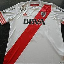River Plate Piscu Match Worn/issued Shirt   Photo