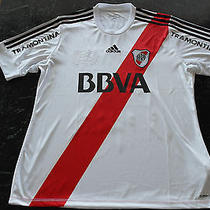 River Plate Ponzio Match Worn/issued Shirt   Photo